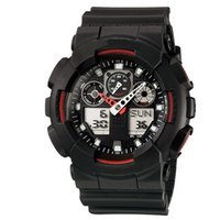 Large watches, men' s sports dial watches, LED waterproo...