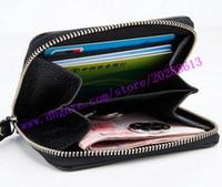 Top Quality Black Empreinte em relevo couro real zippy moedas bolsa M60574 Mulheres Curta Curta Coin Carteira