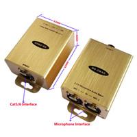 Microfono Extender Over Cat5 / 6 Phantom Power Adattatore per microfono Phantom Microphone Adapter Phantom Adapter su cat5 / 6