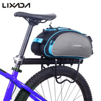 wholesale Bicycle Bag 13L Bike Rear Rack Bag Bicycle Shelf U...