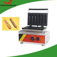 تجارية الساخنة الكلب الكعك آلة الذرة شكل الهراء اسكيماء صانع الهراء آلات وجبة خفيفة آلة بيع آلة الهراء