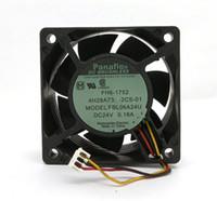 الأصلي NMB FBL06A24U DC24V 0.16A 60x60x25MM 3 خطوط العاكس مروحة التبريد