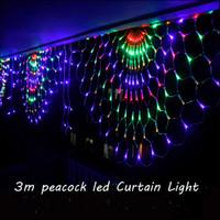 큰 파티 레이아웃 휴일 장식 조명 LED 문자열 조명 호텔 장식 공작 그물 조명 야외 방수 3 M * 0.5 M