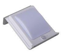 الصمام مصباح الشارع في الهواء الطلق الشمسية 16LED الألومنيوم لوحة مسطحة الشمسية التعريفي الإضاءة المنزلية فناء ضوء
