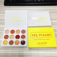 새로운 Colourpop Yes 제발 아이 섀도우 팔레트 12 색 쉬머와 매트 아이 섀도우 메이크업 프레스드 파우더 섀도우 아이 섀도우 화장품