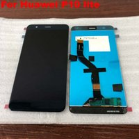 Huawei P10 Lite P10Lite WAS-LX2 WAS-LX1A WAS-LX2 WAS-LX3 LCDディスプレイタッチスクリーンデジタイザアセンブリをフレーム付き