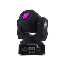 LEDスポット60W移動ヘッドライトGOBO /パターン回転手動焦点Projector DJステージ照明用DMXコントローラーでフォーカス
