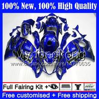 Body Black Flames voor Suzuki Hayabusa GSXR1300 08 09 10 11 12 13 14 15 19MY2 GSX R1300 GSXR 1300 2009 2009 2010 2011 Verkrijgen van carrosserie