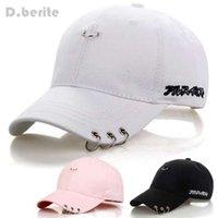 Mens Snapback jimin K de la manera del estallido de hierro Anillo ajustable de los sombreros gorra de béisbol GPD8216