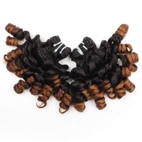 Wholesale 100A Funmi Hair Ombre T1B 4 Rose Curl 3 Bundles We...