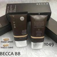 Novo Hot Maquiagem Fundação Becca sempre Matte Shine Prova Foundation 40ml 2Colors Sand Shell BB Cream Alta Qualidade