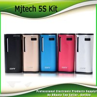 Authentic Mjtech 5S VV Vaporizer Starter Kits 2 in 1 650mah ...
