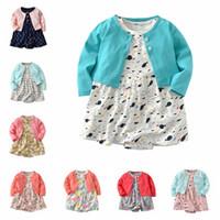 25 neue Arten Säuglingskleidung Kinderkleider Mädchen Weihnachten Strampler Langärmelige Weihnachten Kleid Haarband Set TUTU Rock
