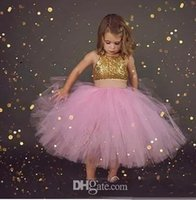 2018 Two Pieces Ball Gown Little Girls Pageant Dresses Jewel...