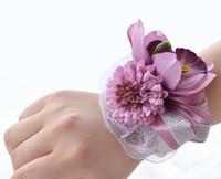 Wholesale silk flower brooch buy cheap silk flower brooch 2018 on yfmy hand made silk orchid flower boutonniere wrist flowers for men and women graduation party flower bride corsage flower brooch y391 mightylinksfo