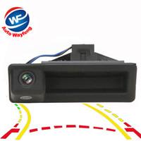 Trilhas de Trajetória dinâmica Câmera de Visão Traseira Do Carro Para BMW Série 3 5 Série BMW X5 X1 X6 E39 E46 E53 E82 E84 E88 E90 E91 E92 E93 E60
