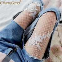 Chamsgend Hollow out Flower sexy pantyhose female Mesh women...