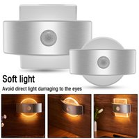 Rechargeable LED Infrared PIR Motion Sensor Night Light Wire...