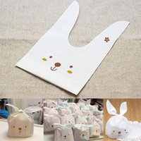 50Pcs Cute Little Rabbit Style Plastic Candy Bags For Birthd...