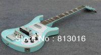 Commercio all'ingrosso caldo! - Nuovi strumenti musicali d'argento dell'argento della chitarra basso di colore blu-chiaro dei rick bassi spigola basso Trasporto libero