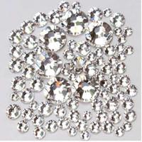 1 упак. размеры смеси стекло прозрачный кристалл не исправление Flatback стразы стразы для шитья ткань одежды Nail Art украшения драгоценные камни