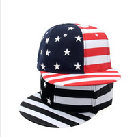 American Flags Sunshade Caps Independence Day Accessories Te...