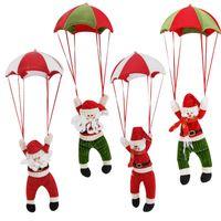 Потолочные украшения парашют Санта-Клаус Снеговик украшения с Новым годом с Рождеством украшения для дома рождественские поставки