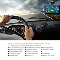 2018 Nuovo HD 7 pollici Navigatore GPS per auto Bluetooth AVIN FM 800 * 480 Touch Screen 800MHZ WinCE6.0 Le più nuove mappe IGO Primo da 4 GB