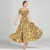 Robe de bal standard pas cher robes de danse standard costumes lumineux valse de salle de bal robe de flamenco espagnol robe de danse rumba