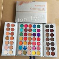 Beauté originale vitrée 63 couleurs Palette à paupières magnifique moi maquillage palette de maquillage ombre à paupières imperméable poudre naturelle cosmétiques nues pigmentées