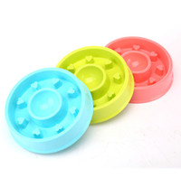 Anti Choke Dog Bowl Plastic Pet Feeder Puppy Cat Slow Down E...