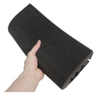 1x Acoustic Absorber Pyramid Foam 30x30x5cm Acoustic Insulat...