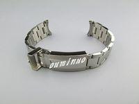 20mm (boucle 16mm) NOUVELLE haute qualité poli + brossé finition pure en acier inoxydable solide bracelet bande de montre bracelet pour montre Rolex