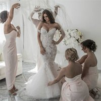 High Quality Unique Design Mermaid Cap Sleeve Wedding Dresse...