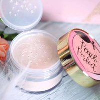 peach perfect mattifying loose setting powder infused with p...