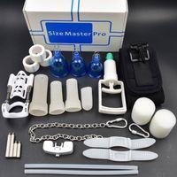 Super Pro extender Vacumm PENIS ENLARGEMENT System Stretcher size master pro jelq penis Device cup Penis Pump Adult product