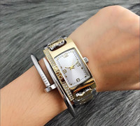 New Fashion Luxury Design New York Style Women Watch Stainle...