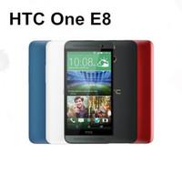 Ricondizionato Originale HTC ONE E8 5.0 pollici Quad Core 2 GB di RAM 16 GB ROM 13MP Camera 4G LTE Android Smart Cellulare