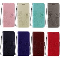 For iPhone 8 Rose Pattern Wallet Case Galaxy S7 Cases Xiaomi...