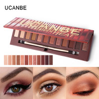 UCANBE Brand New 12 Colors Molten Rock Heat Eye Shadow Makeu...