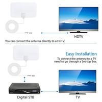 100Pieces 200 millas de alcance de la antena de televisión digital de alta definición 4K Skylink Antena Digital HDTV 1080p cubierta con el amplificador