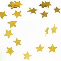 Double Side Gold Star Wall Hangings Props Decoration Star Ca...