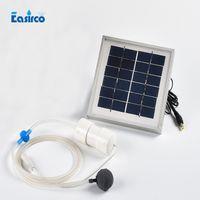 Пневматический насос 2L/MIN солнечной энергии 2W для системы гидропоники.Перейти рыбалка, рамка из алюминиевого сплава, бесплатная доставка