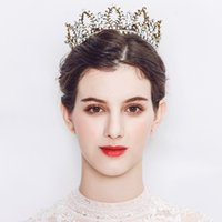 2018 Newest Luxury King Tiaras and Crowns Austrian Crystal H...
