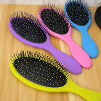 Hair Comb Brush Salon Nuevo Detangling Kids Gentle Women hombres Combs Tangle Wet Dry Cerdas manejar Tangle Detangling Comb
