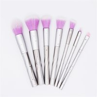 New 7 pcs set Spiral Makeup Brushes Set Pro Powder Foundatio...
