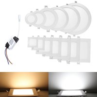 """4"""" 5"""" 6"""" 7"""" 8"""" Led Downlights Recessed Lights 4W 6W 9W 12W 15W 18W 21W Dimmable Led Ceiling Down Lights 110-240V + Drivers"""