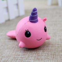 Squishy Slow Rising Cute Whale Squishies Toys Kawaii Squishy...