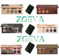 Z.O.EVA Eyeshadow Palette metalli misti / Cocoa Miscela / Rosa d'Oro / Naturally Yours / RODEO BELLE / SMOKY Nake Eye Shadow DHL libero