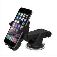 다기능 자동차 휴대 전화 개폐식 브래킷 360도 회전 앞 유리 자동차 마운트 빠는 네비게이션 GPS 홀더 전화 브래킷